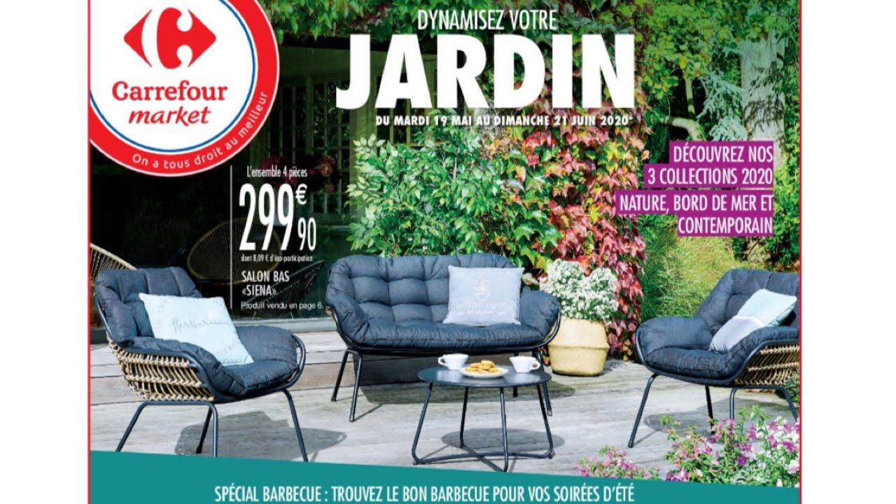 JARDINAGE DE CARREFOUR 9 MAI AU 9 JUEN 9 - YouTube