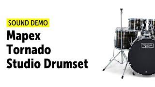 Mapex | Tornado | Studio Drum Set | Sound Demo