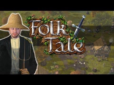 Folk Tale 2017 - Build A Village! - Let's Play Folk Tale Gameplay