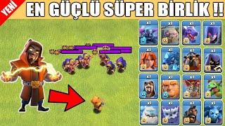 SÜPER BÜYÜCÜ VS TÜM BİRLİKLER ! (EFSANE !!)  - Clash Of Clans