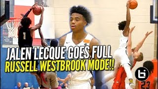 DON'T JUMP w/ Jalen Lecque! Shows WHY He's