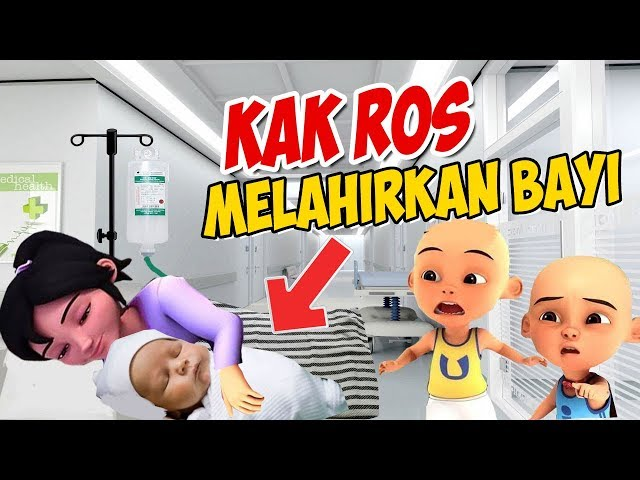 Kak Ros melahirkan Anak Bayi ! Upin ipin kaget GTA Lucu
