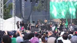 Jamming festival 2013 / Panteón Rococó / La dosis perfecta