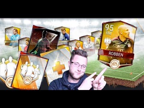 FIFA Mobile TOTW Master Arjen Robben! TOTW Bundle Opening, Plus Triple Threat Packs!