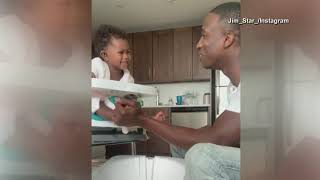 FDNY FIREFIGHTER FATHER GIVES DAUGHTER PEDICURE