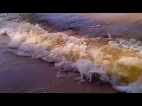 Футаж - Волны и Песчаный Пляж +ЗВУК (Подойдет для аутро или титров)