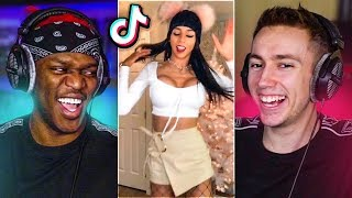 TRY NOT TO LAUGH AT THESE TIK TOKS With JJ