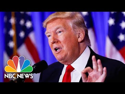 President Donald Trump, Lebanese Prime Minister Saad Hariri Hold Joint Press Conference | NBC News