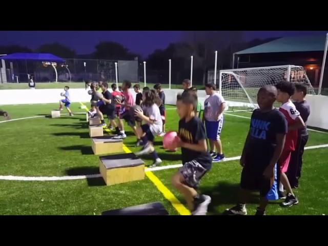 First Step Athletics Academy team training