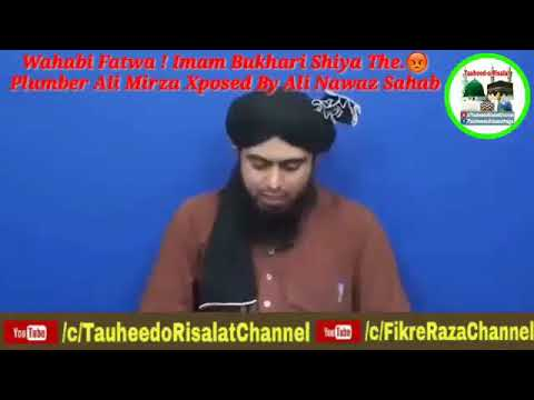 Maazallah - Wahabi Fatwa ! Imam Bukhari Shiya The -  Plumber Ali Mirza Xposed