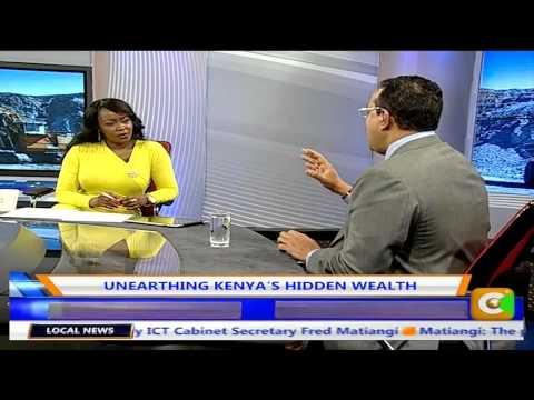 Business Cente Interview with Najib Balala Un Earthing Kenya's Wealth