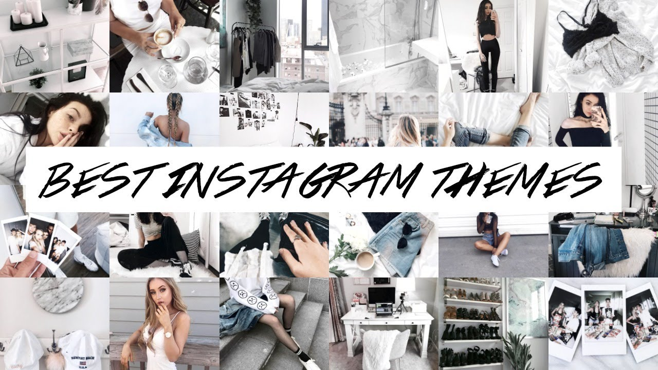 25 BEST INSTAGRAM ACCOUNTS + THEMES TO FOLLOW | LIZA KOSHY, CONNOR FRANTA +  MORE