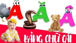 Bảng chữ cái tiếng việt cho bé   giúp em học đọc chữ cái abc   dạy trẻ thông minh sớm 3