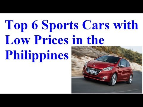 Top 6 Sports Cars with Low Prices in the Philippines   best car news
