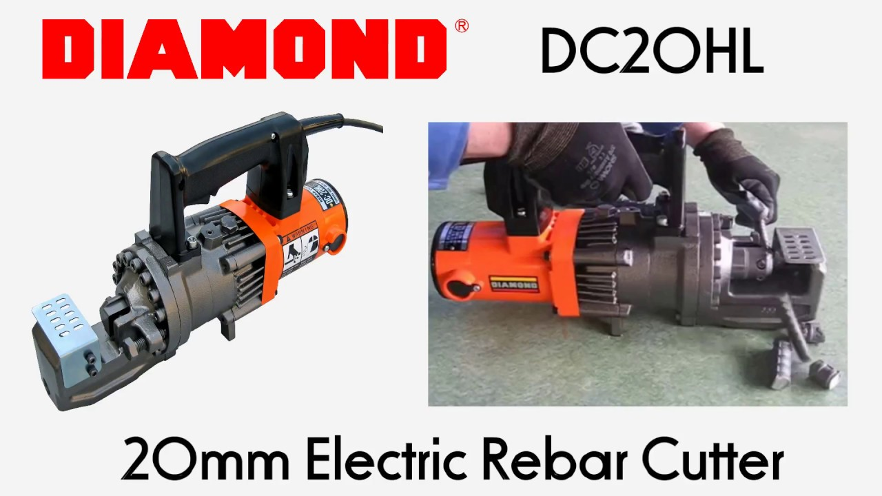 Diamond DC20HL 20mm Electric Rebar Cutter - Specialised Force