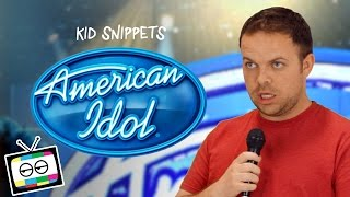 "Kid Snippets: ""American Idol"" (Imagined by Kids) thumbnail"