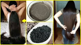 How To Grow Long & Thicken Hair With BLACKSEEDS | Fast HAIR GROWTH | Stop HAIR LOSS Completely
