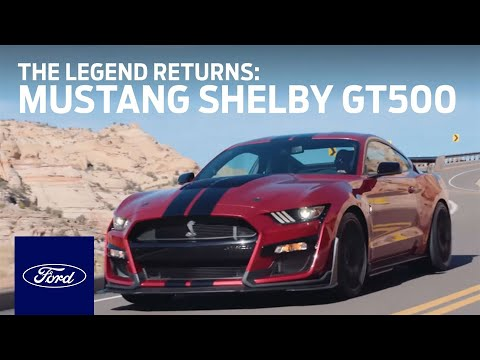 The All-New 2020 Ford Mustang Shelby® GT500®: The Legend Returns | Mustang | Ford