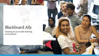Ally Demo – LMS Agnostic Course Materials Accessibility Tool