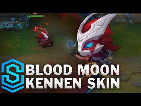 Blood Moon Kennen Skin Spotlight - Pre-Release - League of Legends