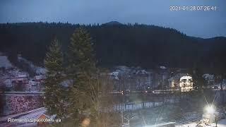 Фото Веб камера Яремче онлайн в реальном времени Романтик Спа Отель