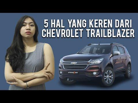 5 Keunggulan Chevrolet Trailblazer Youtube