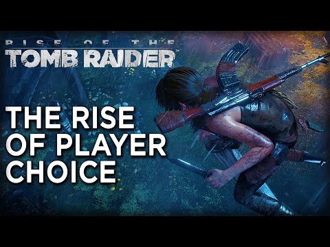 Rise of the Tomb Raider: The Rise of Player Choice poster