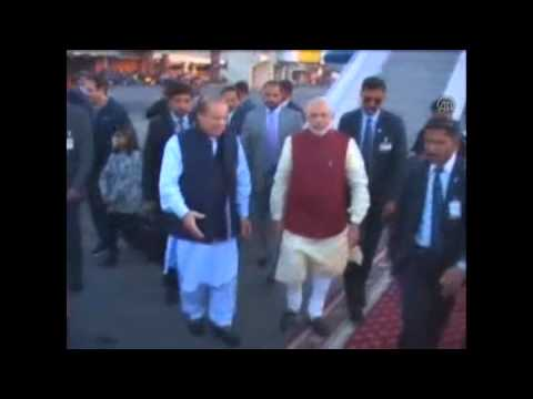 Indian Prime Minister Modi arrives in Pakistan