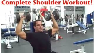 Complete Shoulder Workout - Front, Side, & Rear Delts(Download Your FREE 12 Week Workout Program at: http://www.leehayward.com/12-week-workout-program Download Your FREE Bodybuilding Nutrition Guide ..., 2009-10-14T03:29:42.000Z)
