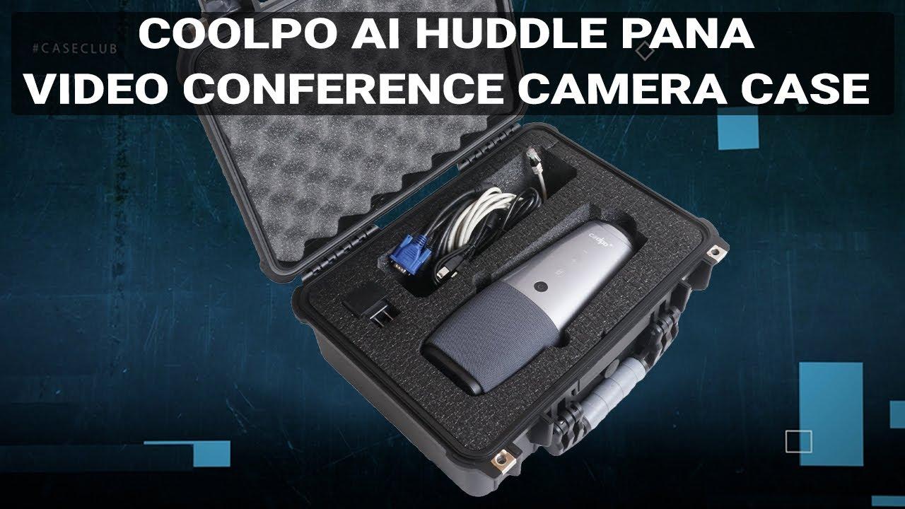 COOLPO AI Huddle Pana Video Conference Camera Case - Video
