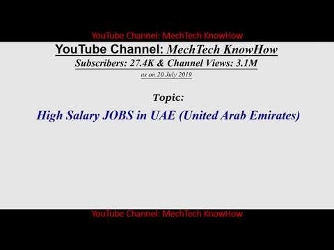 High Salary Job UAE, High Salary Dubai, IT Consultant, Software Engr, Programmer, Web Developer,...