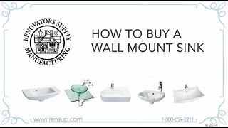 Bathroom Wall Mount Sinks | How to Buy | Renovator's Supply(, 2014-11-06T18:27:10.000Z)