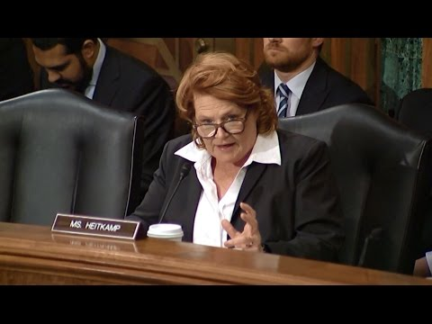 Heitkamp Urges SEC Nominee to Commit to Standing Up for Small Businesses in Rural America