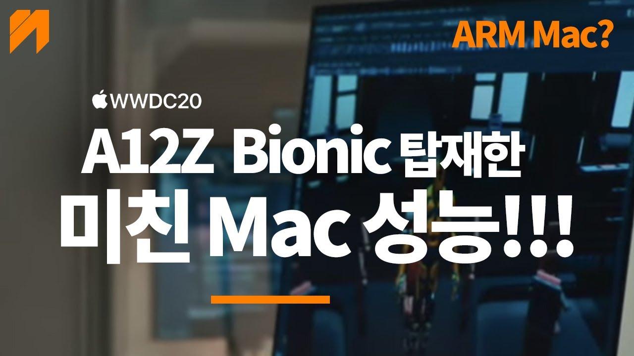 드디어 A12x Bionic을 탑재한 최초 arm 맥? 애플 실리콘 출시일과 모델 ARM CPU? apple silicon