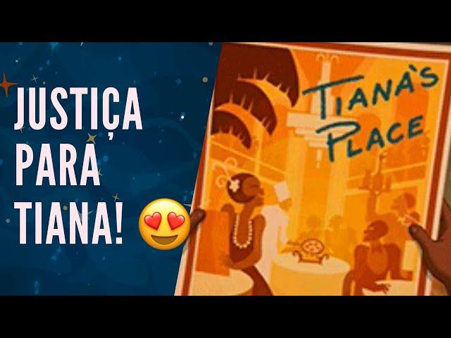 FINALMENTE: RESTAURANTE de A PRINCESA E O SAPO na DISNEY! 🐸👸🏿