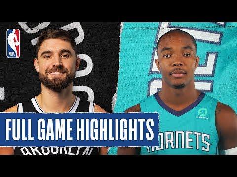 NETS At HORNETS | FULL GAME HIGHLIGHTS | December 6, 2019