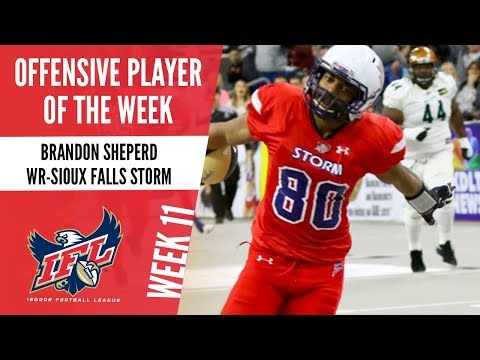 IFL Week 11 Offensive Player of the Week: Brandon Sheperd