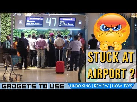 Vlog Style, What To Do At Airport, When Flight Is Delayed, Do This