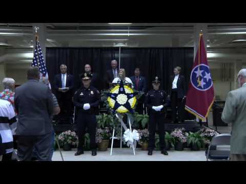 2016 Knoxville-Knox County Peace Officers' Memorial Service