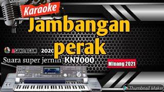 Karaoke lagu minang populer saat ini || Jambangan perak || FULL HD ASANO AGAM