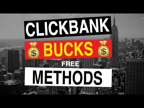 How To Make Money On ClickBank For FREE | 7 Strategies Beginners Can Start TODAY
