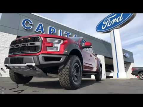 2017 Ford Raptor at Capital Ford in Carson City NV