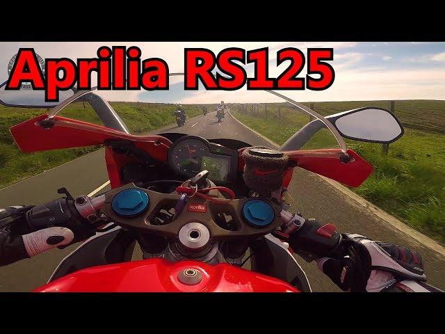 Near Death For The Aprilia RS125 - One Way Mountain TT 2018