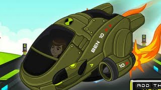 Ben 10 Speed Racer Level1-6 Walkthrough