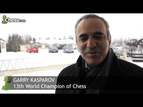 Garry Kasparov Visits Bobby Fischer's Grave