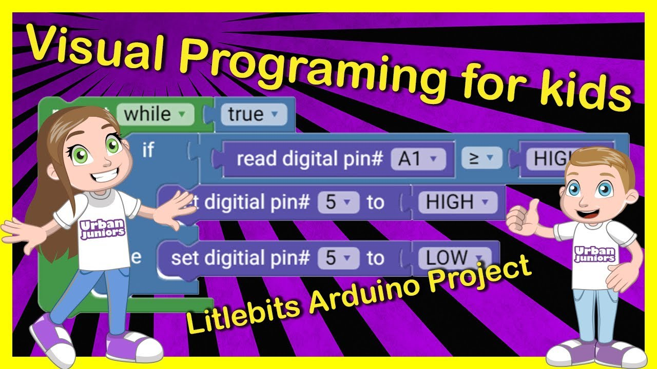 Coding Littlebits Arduino with Blockly (ArduBlockly) - Engineering projects  for kids
