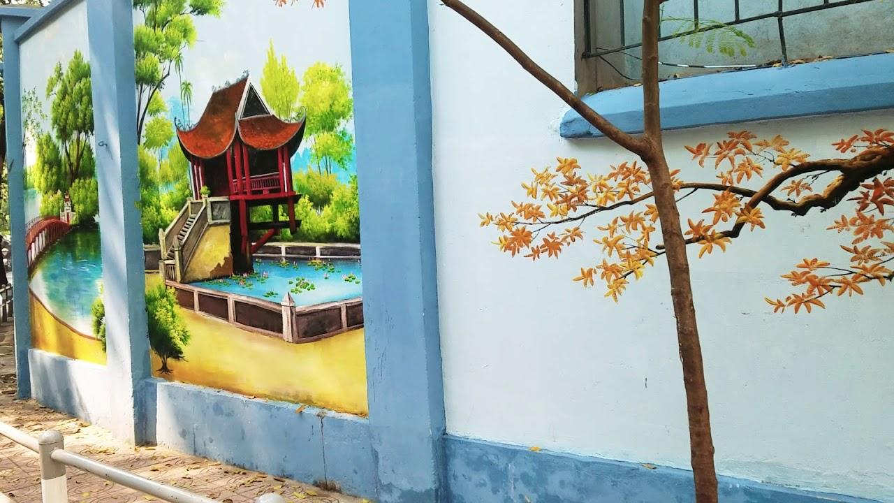 VẼ TRANH TƯỜNG- Tranh Tường Phong Cảnh- LH 0357972869