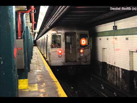 MTA New York City Subway Sound Recording: Westinghouse 1986-88 R68 2500 On The D Train
