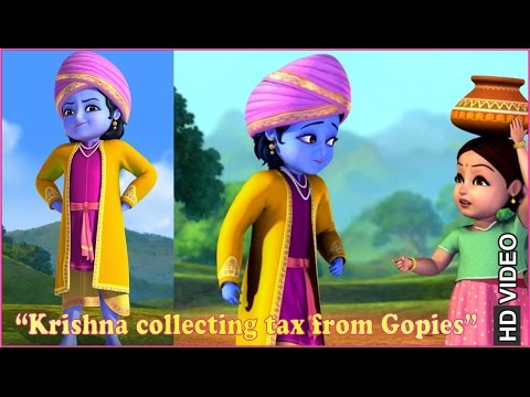 Thumbnail: Krishna collecting tax from Gopies | Clip | Hindi