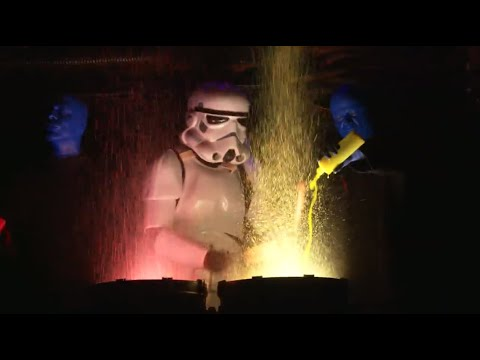 Storm Trooper Auditions for Blue Man Group   Blue Man Casting Ep. IV: A Blue Hope
